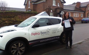 A Pass for Emily! Well Done!
