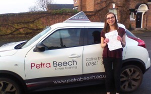 A Pass for Emma Scriven! Well Done!